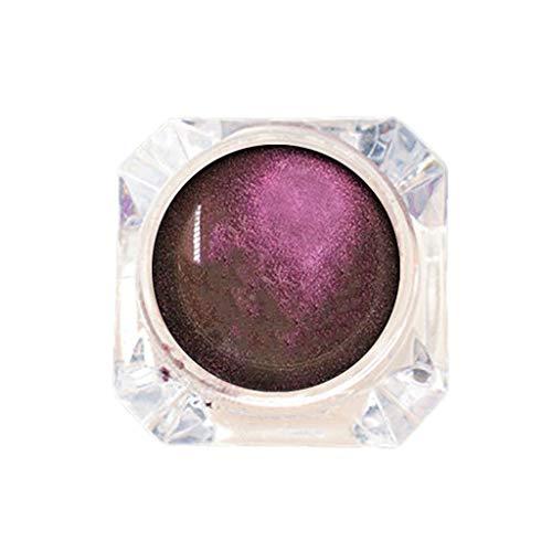 FRsolder Glitter Shadow Ombre à paupières monochrome Unique Poudre Palette de Fard à paupières Nude Matte Shimmer Multi-Reflective Shades Paillette Shine Maquillage Yeux Imperméable Glow Eyeshadow