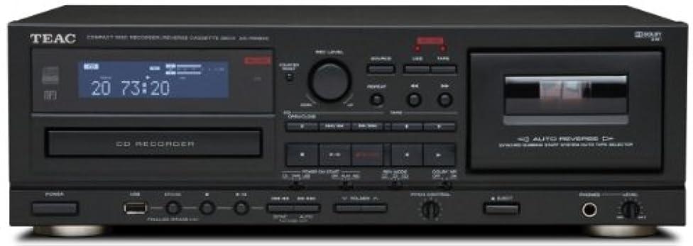 均等に返済離婚TEAC CD/カセットレコーダー USB接続対応 ブラック AD-RW900-B