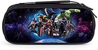 TOYFigures New Marvel Avengers Thanos Spider Man Iron Man Super Hero Pencil Pouch School Bag Action Figure Toys for Children