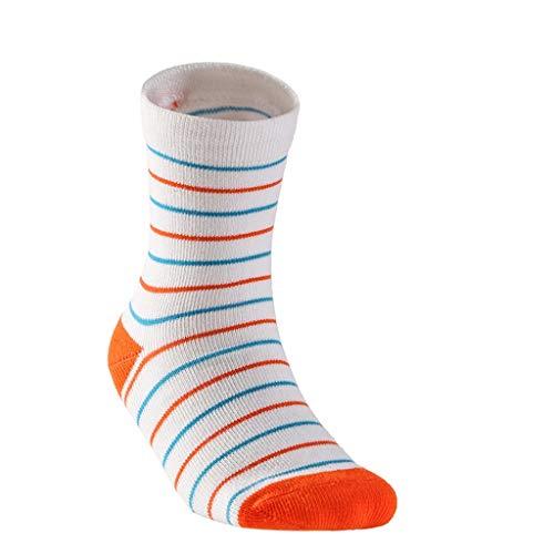 Chaussettes de randonnée à séchage Rapide pour Les Sports de Plein air pour Enfants, Chaussettes de randonnée Confortables pour Enfants, Absorbant l'humidité (Color : D(5pairs), Taille : M)