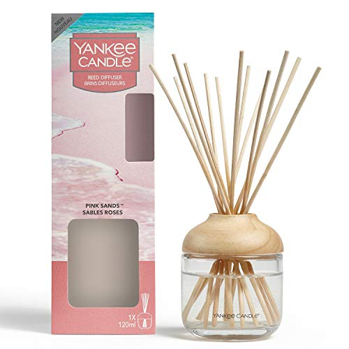 Yankee Candle Reed Diffuser | Pink Sands | 120 ml | Up to 10 Weeks of...
