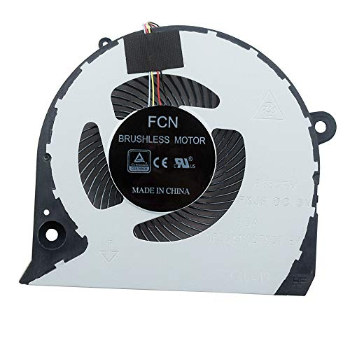 Replacement Laptop GPU Cooling Fan for DE Inspiron 7577 7588 G7-7588 Series Cooler DFS541105FC0T by YDLan
