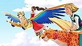 LIANXI- Pintura De Number Kit 16 * 24Inch, Diy Pintura Al Óleo Dibujo -Elena Of Avalor 3D- Lienzo Colorido Con Cepillos Decoración Decoraciones Regalos De