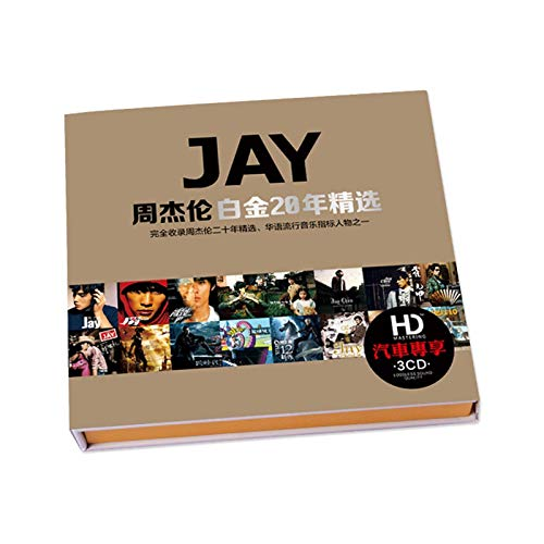 WDFDZSW Jay Chou CD Álbum de CD Presentado Música Popular CD de CD de CD de Coches CD
