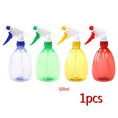 A0127 Vaporisateur Bonsai arrosoir Plastique multifonctionnel transparent Outils de jardinage Pulvérisateur de 500 ml Couleur aléatoire