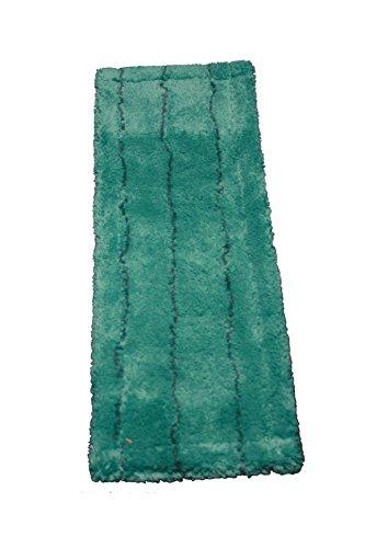 AQUA CLEAN Microfaser Bodenmopp mit Borstenstreifen 40cm (grün)