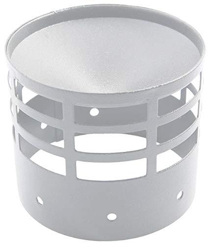 Ablaufabdeckung oder Edelstahl Saug d. 100 mm. Rauch Pellets.