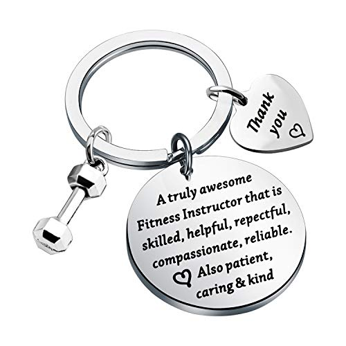 Fitness Trainer regalo di ringraziamento per istruttore di fitness, gioielli regalo per istruttore di fitness...