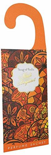 Song parfumzak 20 g om op te hangen aan deuren en kasten, geur Bergamotto Neroli