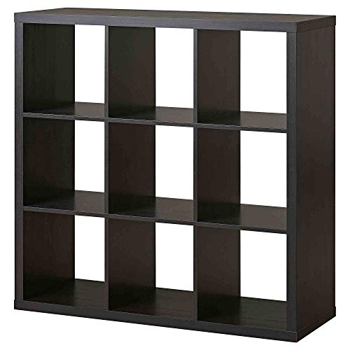 Better Homes and Gardens 8-Cube Organizer with Metal Base (White, 1) (Espresso)