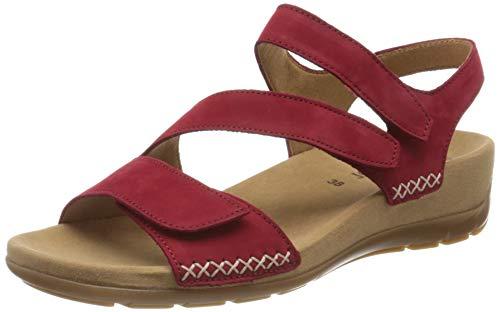 Gabor Shoes Damen Jollys Riemchensandalen, Rot (Rubin 35), 37 EU