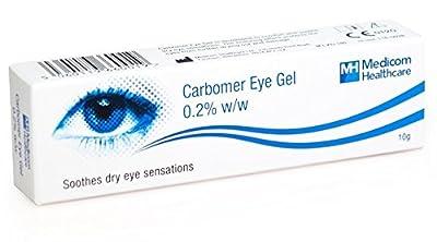 Carbomer Eye Gel 10g (20 pack) by Medicom