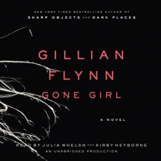 Gone Girl     A Novel              By:                                                                                                                                 Gillian Flynn                               Narrated by:                                                                                                                                 Julia Whelan,                                                                                        Kirby Heyborne                      Length: 19 hrs and 11 mins     50,147 ratings     Overall 4.3