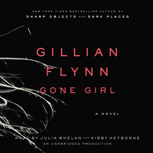 Gone Girl audiobook cover art