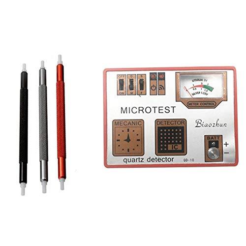 Nrpfell 4 in 1 Uhr Tester Pulser Demagentizer Spulen Strom Kreis IC Batterie Test Reparatur Werkzeug