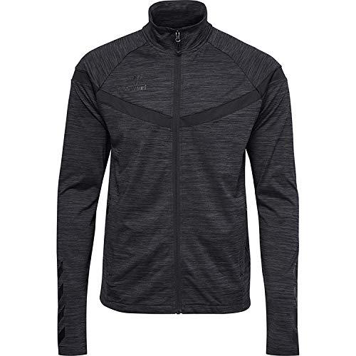 hummel hmlcharm Zip Jacket Veste XL Noir chiné