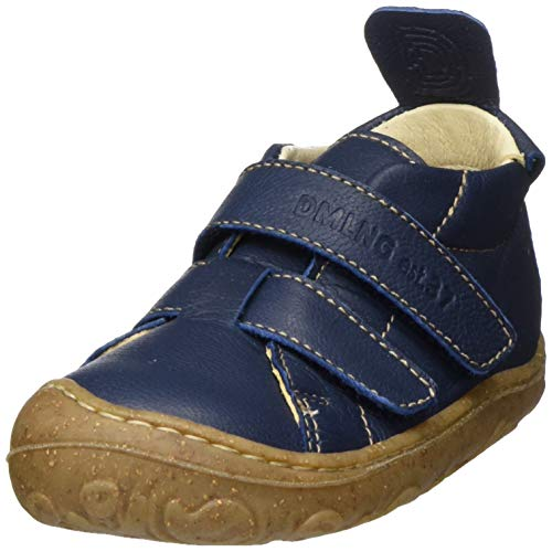 Däumling Unisex Kinder Nedal Sneaker, Blau (Laya Jeans 42), 25 EU