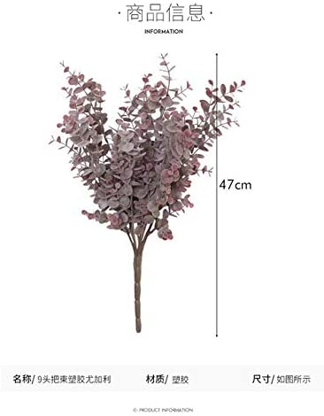 Artificial Max 55% OFF Ranking TOP2 Potted Wind Simulation Plants of Soft Pla Bundles Put