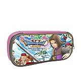 ドラゴンクエスト 多機能 ペン箱 通学 ペンシルケース 通用する のチェーン袋 男の子と女の子に似合います Pink