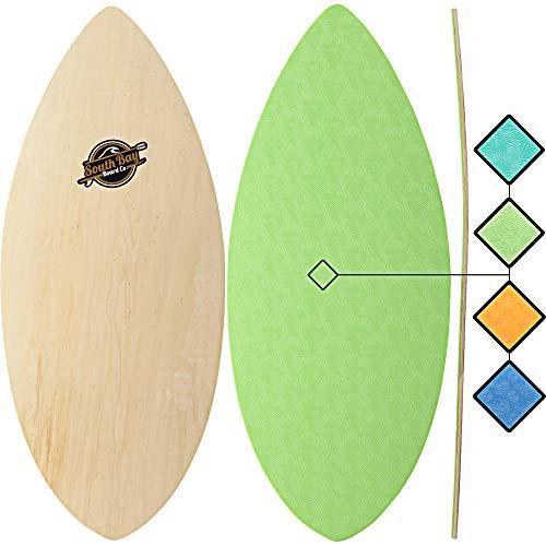 """Skimboards - Performance Foam Textured Deck Skim Board - 41"""" Skipper Skimboard (Aqua)"""