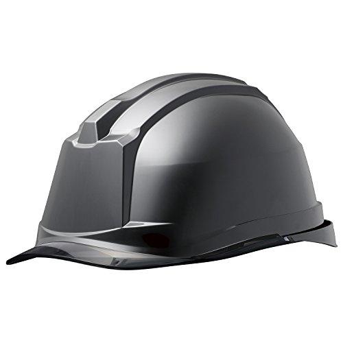ミドリ安全 ヘルメット クリアバイザー SC-19PCL RA3 α ブラック スモーク