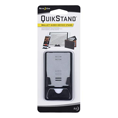 Nite Ize QuikStand - Compact Smartphone Stand Fits iPhone, Samsung, Small Tablets, and E-readers