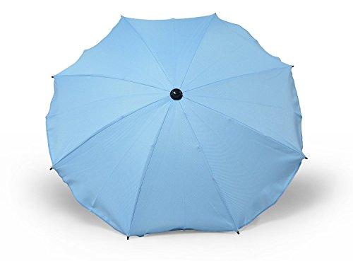 Sombrilla y paraguas universal para carros y sillas de bebé, con soporte universal, protección contra rayos UV 50+ mar