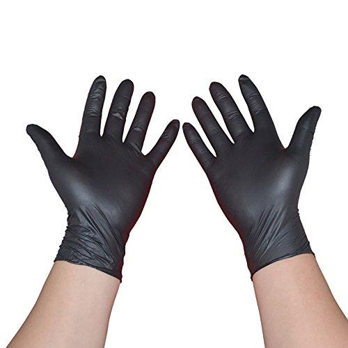 100pcs/caja desechables guantes de látex desechables para limpieza limpieza hogar guantes de nitrilo