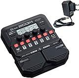 Zoom G1 FOUR - Aparato de efectos para guitarra (incluye fuente de alimentación Keepdrum de 9 V)