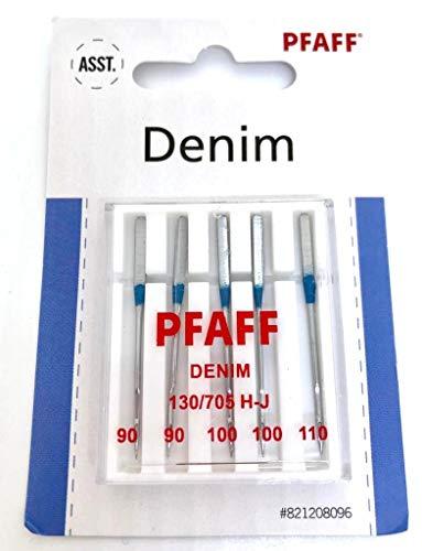 Pfaff Jeans Nähmaschinennadeln 130/705 H-J Stärke 90-110 für Pfaff Nähmaschinen Smarter