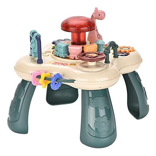 Life up Tavolo Attivita Bambini - Tavolino Multiattivita Interattivo Bambini Giochi Educativi Giocattoli Bambina Bambino Regalo Tavolini per Bimbo 2 3 4 5 Anni