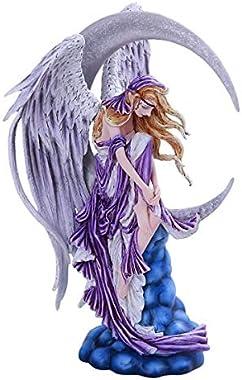 Pacific Giftware PT Nene Thomas Fantasy Art Collection Moon Dreamer Moon Fairy Resin Collectible Figurine