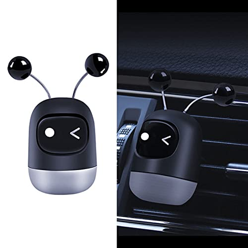 ASZX Coche Coche Creativo Mini Robot Air ventilación Clip Perfume Humor ventilación aromaterapia desodorizante Interior 723 (Appearance : Charming, Size : 29 * 60mm)