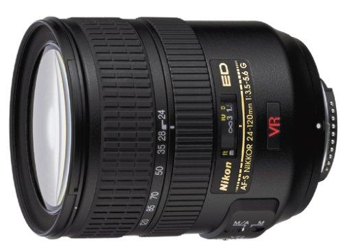 Nikon AF-S Zoom-Nikkor 24-120mm 1:3,5-5,6G IF-ED VR Objektiv (72 mm Filtergewinde, bildstab.)