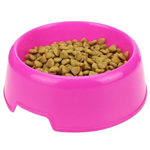 Glqwe Haustier Hund Katze Schüssel, Sicherheit Netter Multi-Purpose-Süßigkeit-Farbe Kunststoff Hundenäpfe Füttern Wasser Lebensmittel Welpen Feeder Hund Katze Näpfe Hunde die Fütterung (Color : B)