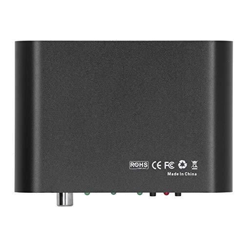 FOLOSAFENAR Puerto USB Decodificador de Sonido Decodificador de Audio Digital Sistema operativo Linux para Entrada AUX para Disco U(Transl)
