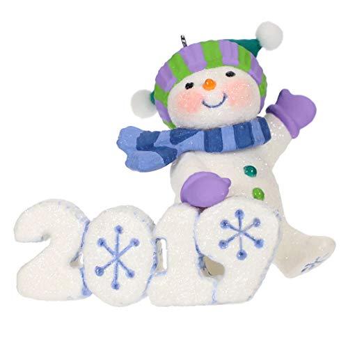 Hallmark Keepsake Christmas Ornament 2019 Year Dated Frosty Fun Decade Snowman