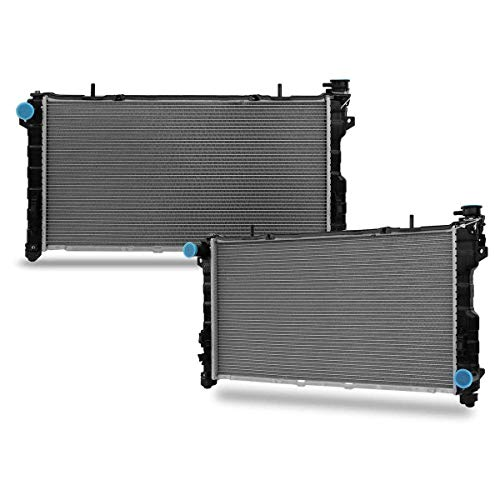 CU2311 Radiator Compatible with Town & Country Grand Voyager Grand Caravan 2001 2002 2003 2004 V6 3.8L 3.3
