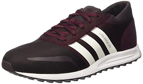 Adidas Los Angeles, Zapatillas Para Hombre, color marrón (maroon/ftwwht/maroon), talla 43 1/3 EU