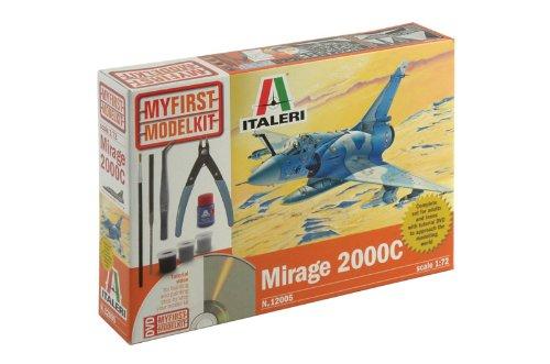 Italeri 510012005 - 1:72 IT Mein erster Bausatz Mirage 2000C, Flugzeug
