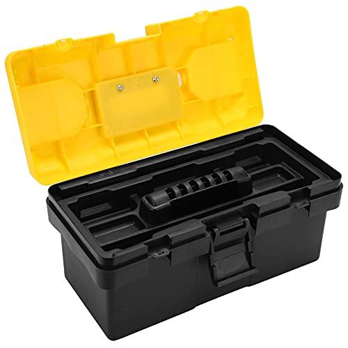 Estuche de almacenamiento con asa portátil, caja de herramientas Estuche sellado de almacenamiento a prueba de golpes para uso profesional para la familia