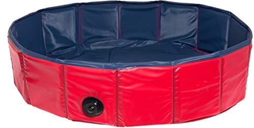 Karlie 31886 Doggy Pool ø: 80 cm blau-rot