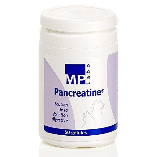 Pancreatina: ayuda a la función pancreática de perros y gatos, 50cápsulas