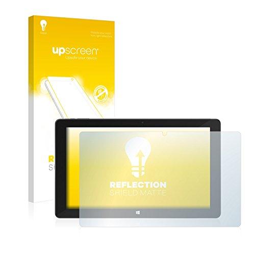 upscreen Entspiegelungs-Schutzfolie kompatibel mit TrekStor SurfTab Duo W2 – Anti-Reflex Bildschirmschutz-Folie Matt