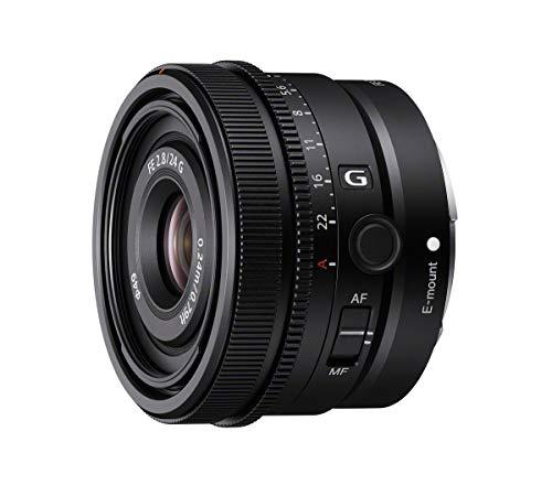Sony SEL-24F28G - Obiettivo Full-Frame focale fissa 24mm F2.8, Premium Serie G, Mirrorless Attacco E, SEL24F28G