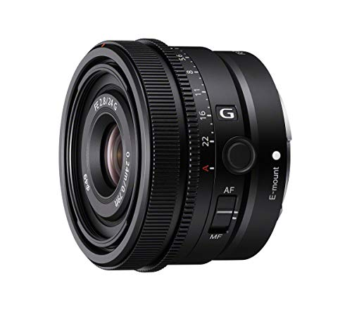 Sony SEL24F28G - Objetivo Full-Frame FE 24mm F2.8 G, Objetivo Prime de la Serie G (Gran Angular, Objetivo de Paisaje)