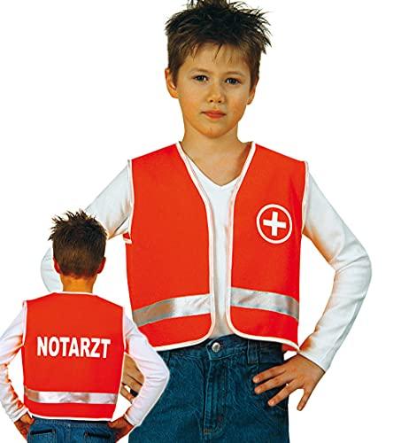 Unbekannt Notarzt Kinder Sanitäter Arztkostüm Rettungsdienst Kinderkostüm