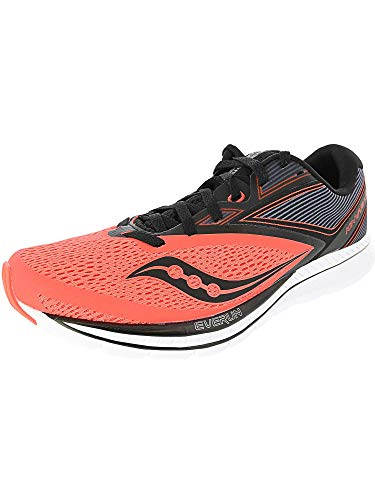 Saucony Men's Kinvara 9, ViziRed/Black, 10 D