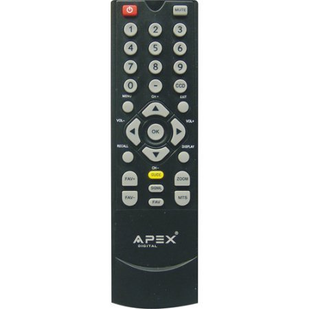Apex DT250A Digital Converter Box Remote for DT150 DT250 DT250A DT502A DT502