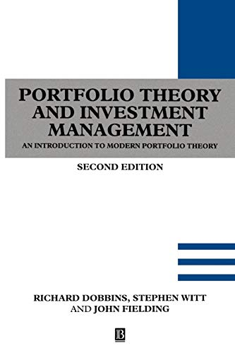 Download Portfolio Theory Investment 0631191828